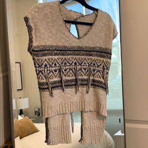Boho Sweater/ Top.